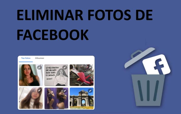 quitar las fotos de facebook