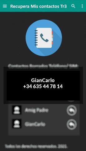 recuperar contacto iphone