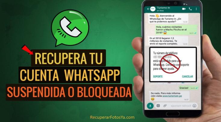 recuperar cuenta whatsapp